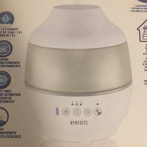 Total Comfort Humidifier with essential oil tray